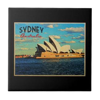 Sydney Australia Ceramic Tile