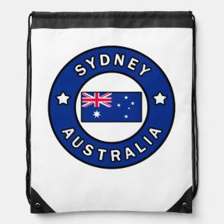 Sydney Australia Drawstring Bag