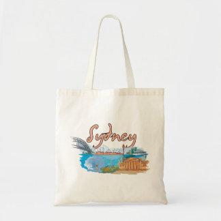 Sydney, Australia Famous City Tote Bag