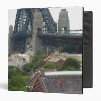 Sydney, Australia. Harbour Bridge. Binder