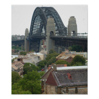 Sydney, Australia. Harbour Bridge. Poster