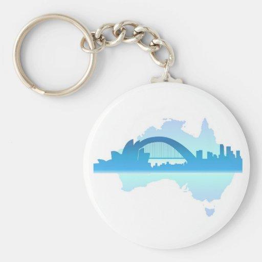 Sydney Australia Key Chain