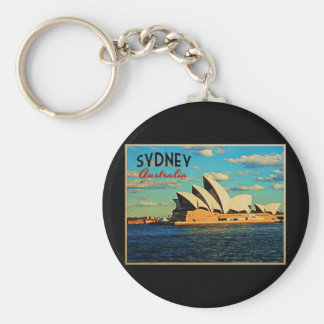 Sydney Australia Keychains