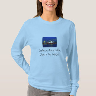Sydney Australia.......  Ladies Long Sleeve T-Shirt