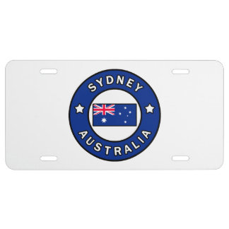 Sydney Australia License Plate