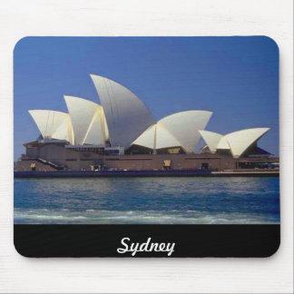 Sydney Australia Opera House Travel Moust Mat Mousepads