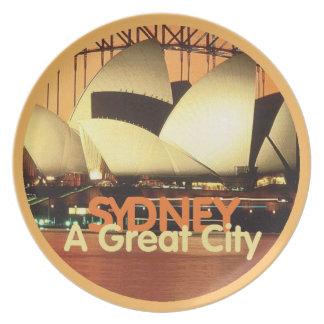SYDNEY Australia Plate