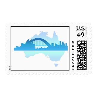 Sydney Australia Stamp