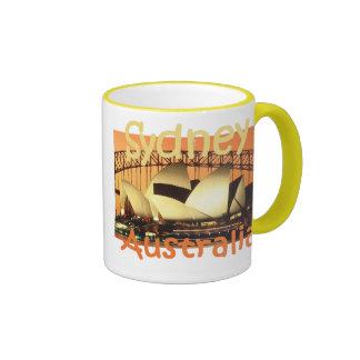 SYDNEY Australia Ringer Coffee Mug
