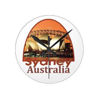 SYDNEY Australia Round Clock