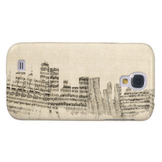 Sydney Australia Skyline Sheet Music Cityscape Samsung S4 Case