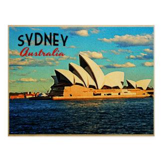 Sydney Australia Tarjeta Postal