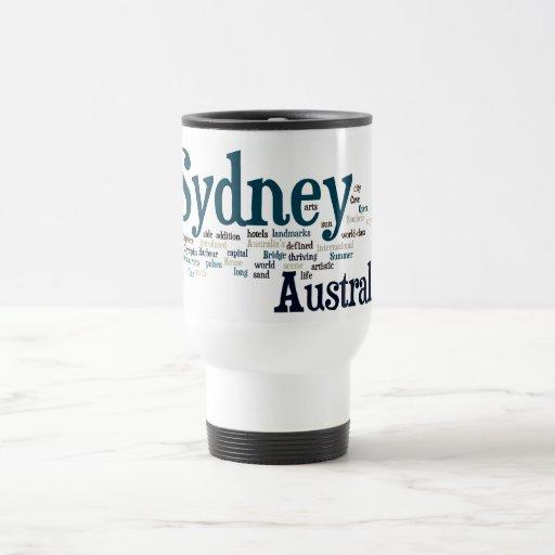 Sydney, Australia Taza De Viaje