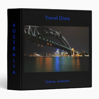 Sydney Australia Travel Diary Binder