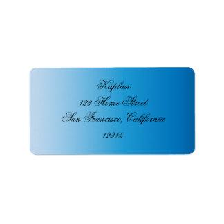 Sydney Bat Mitzvah Address Label