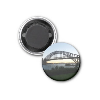 sydney bridge 1 inch round magnet