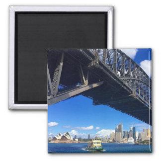 sydney bridge ferry magnet