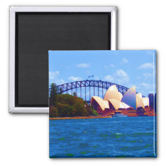sydney bright 2 inch square magnet