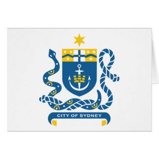 Sydney Coat Of Arms Card