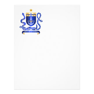 Sydney coat of arms personalized flyer