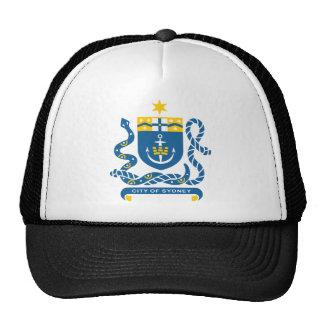Sydney Coat Of Arms Mesh Hats