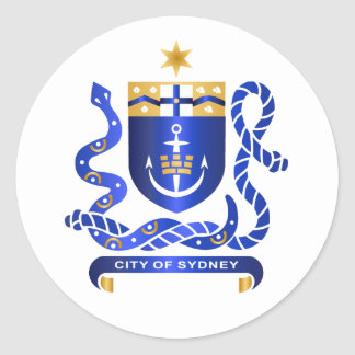 Sydney coat of arms stickers