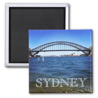 sydney coathanger 2 inch square magnet
