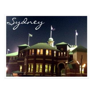 sydney cricket ground postcard