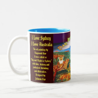 Sydney Day and Night mug