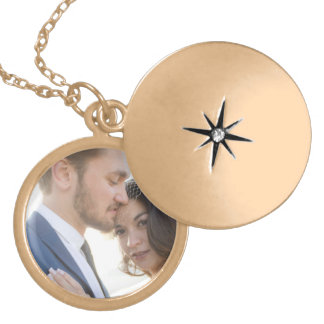Sydney + Denis Wedding - Locket Necklace