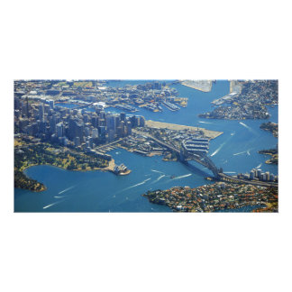 sydney from the air card