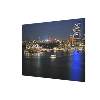 Sydney Harbor at Circular Quay Canvas Print