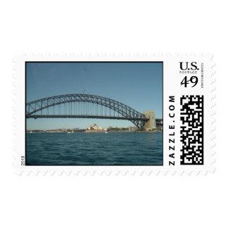 Sydney Harbor Bridge and Opera House Postage Stamp