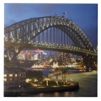 Sydney Harbor Bridge and Park Hyatt Sydney Hotel Ceramic Tile
