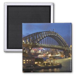 Sydney Harbor Bridge and Park Hyatt Sydney Hotel Magnet