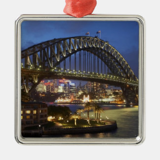 Sydney Harbor Bridge and Park Hyatt Sydney Hotel Metal Ornament