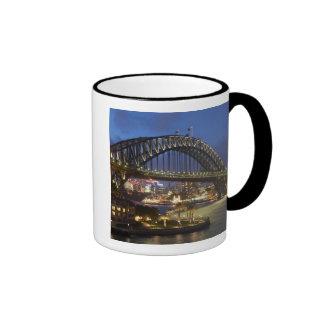 Sydney Harbor Bridge and Park Hyatt Sydney Hotel Ringer Mug