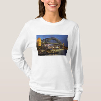 Sydney Harbor Bridge and Park Hyatt Sydney Hotel T-Shirt