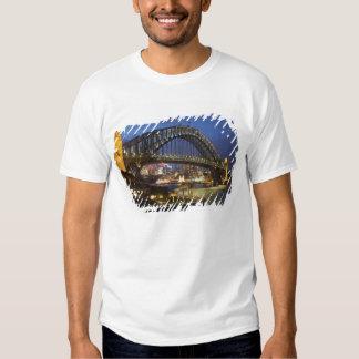 Sydney Harbor Bridge and Park Hyatt Sydney Hotel T Shirt