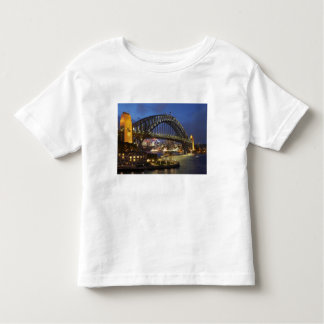 Sydney Harbor Bridge and Park Hyatt Sydney Hotel Toddler T-shirt