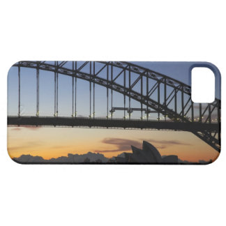 Sydney Harbor Bridge and Sydney Opera House at 2 iPhone 5 Cover