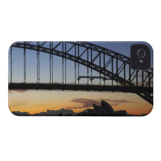 Sydney Harbor Bridge and Sydney Opera House at 2 Case-Mate iPhone 4 Case