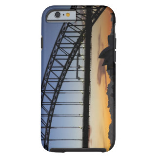 Sydney Harbor Bridge and Sydney Opera House at 2 Tough iPhone 6 Case