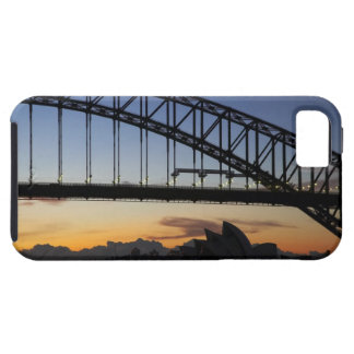Sydney Harbor Bridge and Sydney Opera House at 2 iPhone 5 Cases