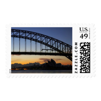 Sydney Harbor Bridge and Sydney Opera House at 2 Postage