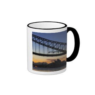 Sydney Harbor Bridge and Sydney Opera House at 2 Ringer Coffee Mug