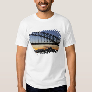 Sydney Harbor Bridge and Sydney Opera House at 2 T Shirts