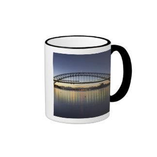 Sydney Harbor Bridge and Sydney Opera House at Ringer Coffee Mug