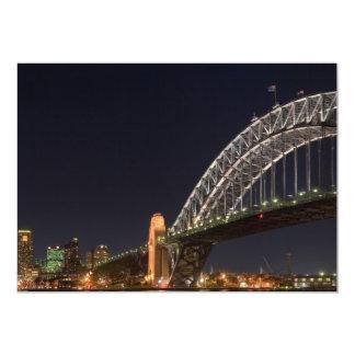 Sydney Harbor Bridge Custom Invitations