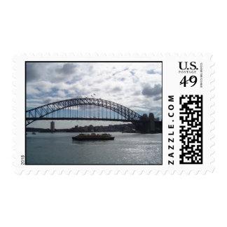 Sydney Harbor Bridge Postage Stamps